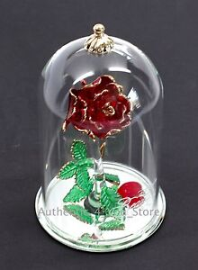 New Disney Arribas Brothers Beauty The Beast Enchanted Rose 55