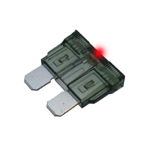 2A LED STANDARD BLADE Fuse Car Auto 2 Amp Glows when it Bows ATO Pack of 10