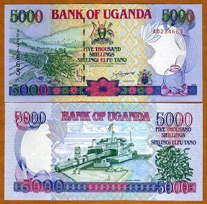 Uganda-5000-5-000-Shillings-1993-P-37a-UNC