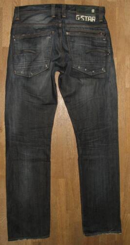 l33 Jeans W32 Star Dkl In Ca Herren 3301 Raw Blau G Originals HgffF