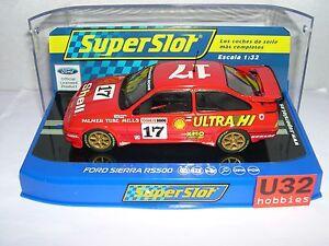 Spielzeug Kinderrennbahnen Objective Bestellung H3740 Ford Sierra Rs500 #17 Dick Jhonson-john Bowe Scalextric Uk Mb