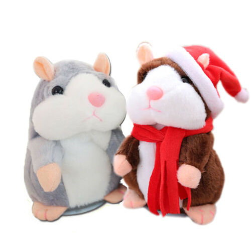 Cheeky Hamster Talking Mouse Pet Gift Speak Sound Record Hamster Toy Xmas Gift