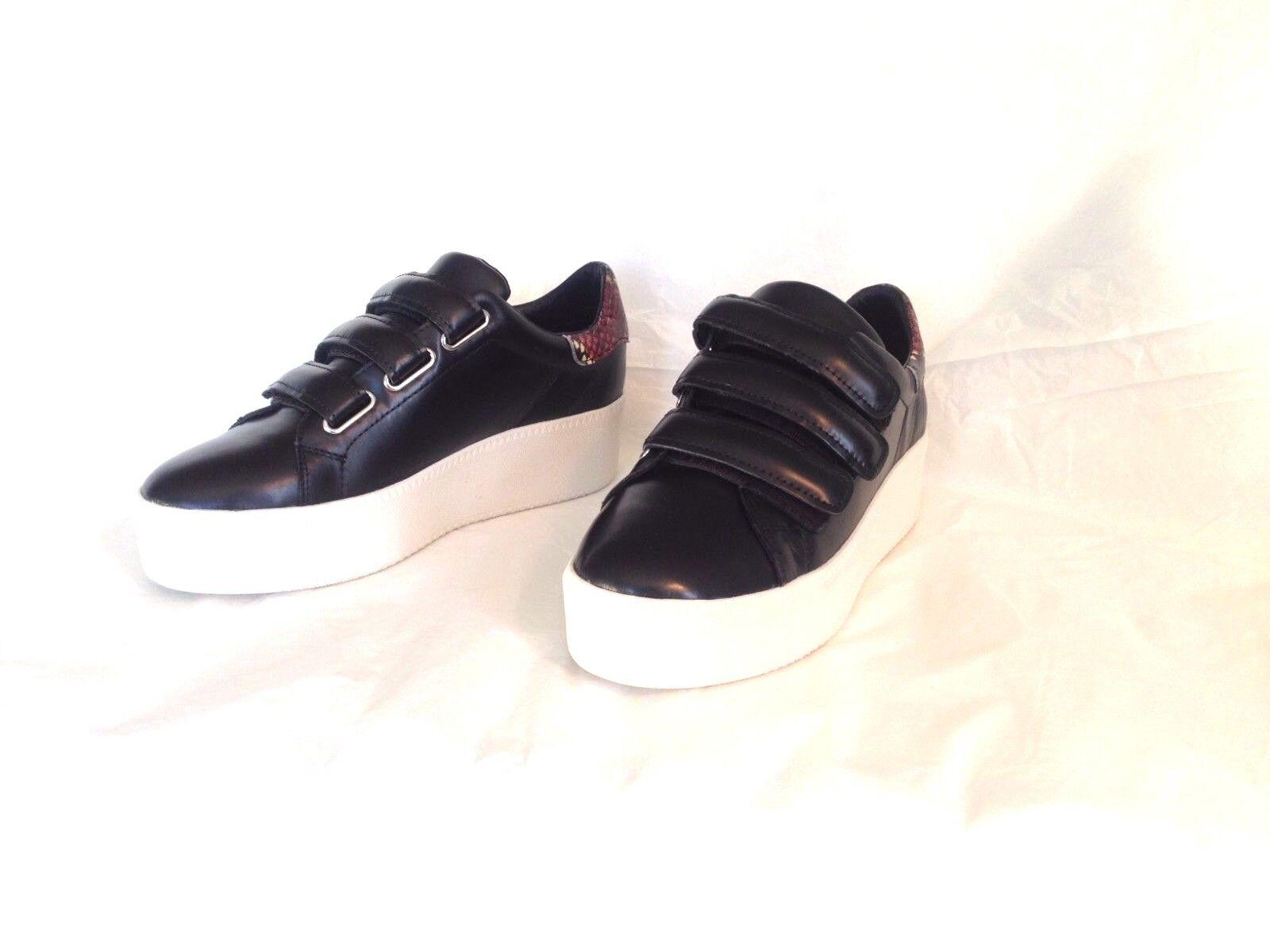 Brand-New with Box  Black Platform Platform Platform Sneakers by ASH, Size 10 (41) bc3f52