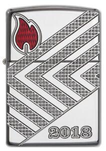 ZIPPO-Armor-Case-Annual-Lighter-2018-Germany-limitiert-auf-750-Stuck-60003597