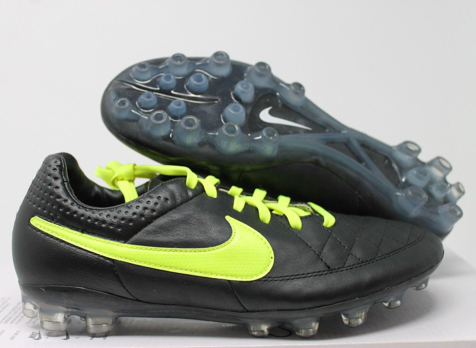 Ejercer boca no pueden ver  Nike ID Women Tiempo Legend Legacy AG Black-volt Sz 7.5 653769-992 for sale  online | eBay