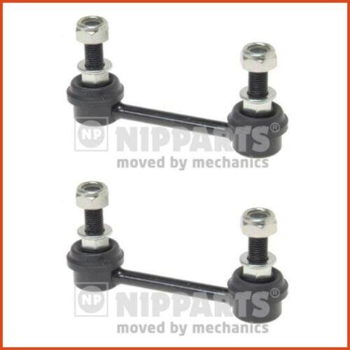 2 x Nipparts couplage tige pendulaire poteau Stabilisateur Set Arrière 3837065