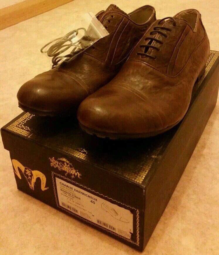 sports shoes c5e59 f1e96 SHMOOVE Chaussure homme cuir marron en cuir homme T.40 neuf 1268b8