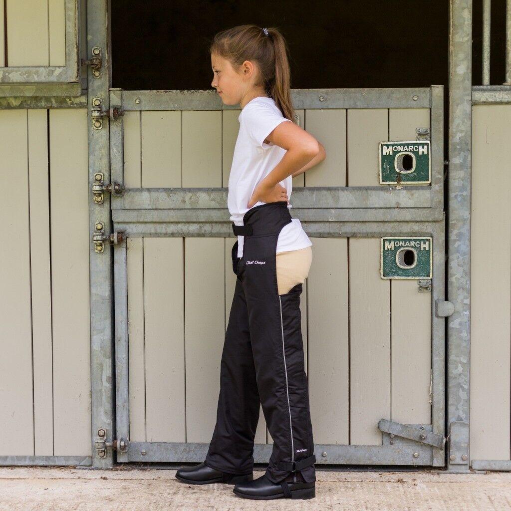 Just Chaps Bambino Equestre Equestre Equestre Impermeabile Con Fodera Dri Riders Completo a Cavallo Chaps   Export    Conosciuto per la sua eccellente qualità  d18081