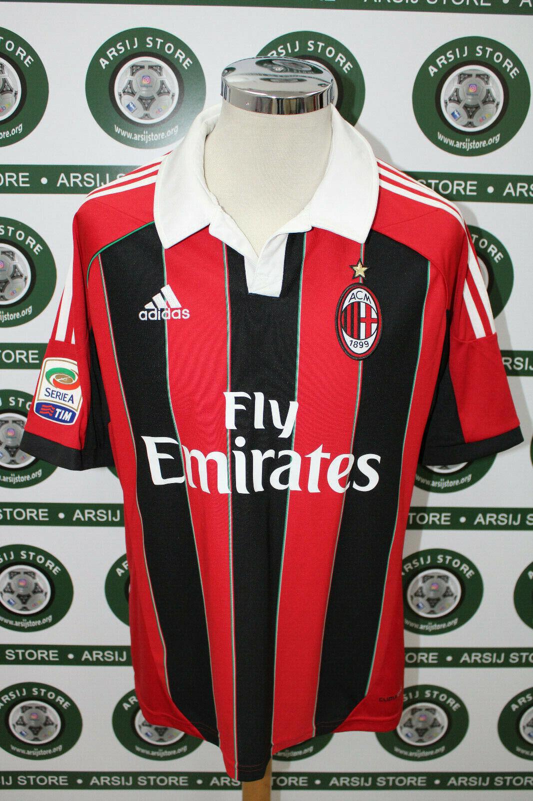 Maglia calcio shirt maillot trikot camiseta MILAN BALOTELLI TG L