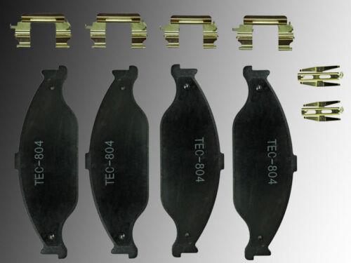 Vorderachse Ford Mustang 1999-2004 Keramik Bremsklötze Bremsbeläge Vorne