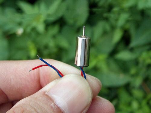 10Pcs 6mm*12mm 612 DC 3 V 37000 tr//min haute vitesse Micro Mini Rond sans moteur
