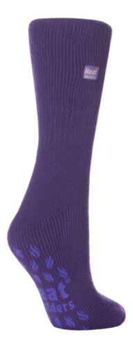 37-42 Ladies Original Violet Heat Holder Thermal Slipper Socks 4-8 uk 5-9 us