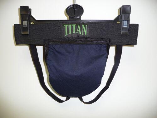 Black cotton lycra  jock strap X Large Mens Navy
