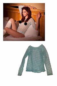 La Imagen Se Esta Cargando Ashlyn Molloy Camisa Usado Durante Su Grabar Para
