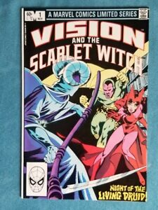VISION AND THE SCARLET WITCH #1 NM (1982).  Samhain WANDAVISION