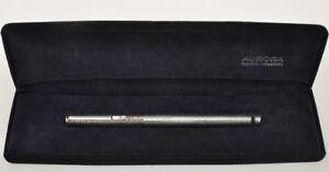 Aurora-Hastil-penna-stilo-argento-925-silver-fountain-pen-mint-in-box