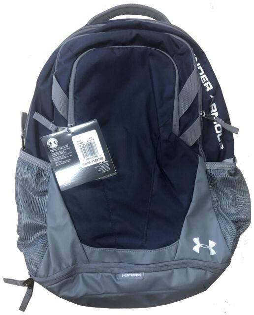 moda designerska zniżki z fabryki buty do separacji Under Armour 1294720 UA Hustle 3.0 Backpack Water Resistant Polyester Bag  OSFA Midnight Navy