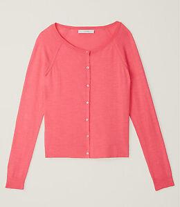 Ann-Taylor-LOFT-Textured-Cotton-Cardigan-Size-XS-M-L-XL-NWT-Various-Colors