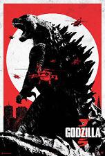 24X36Inch Art GODZILLA Movie POSTER 2014 Gojira P03