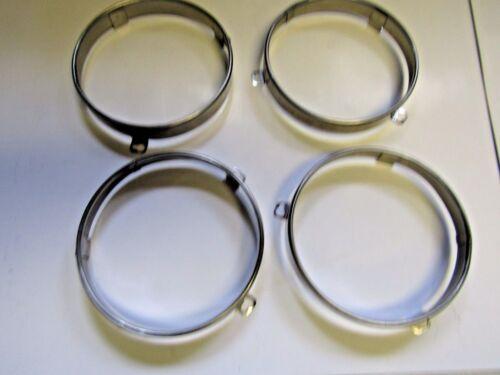 Mopar 64 65 66 67 Polara Coronet Imperial Chrysler 300 Headlight Retainer Rings