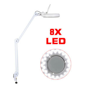 Magnifying Led Lamp Magnifier Hot Precision Ground Glass