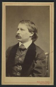 Image Is Loading Carl TAUSIG Pianist Composer Carte De Visite Photograph