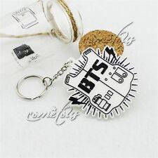 Bangtan Boys BTS Keychain Key ring Kpop JUNGKOOK JIN New Gifts