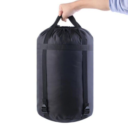 LC/_ Nylon Waterproof Compression Stuff Sack Bag Outdoor Camping Sleeping Bag F