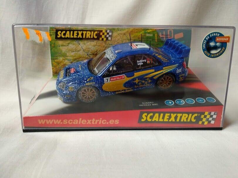 SCX Scalextric Subaru Impreza WRC  World Campion  ref 6149  1 32 Nuevo