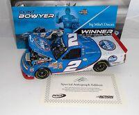 2010 Clint Bowyer 2 Kroger Phoenix Win 1/24 Scale Autographed Diecast