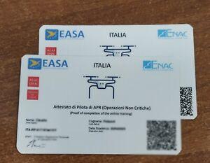 2-Card-Pilota-di-Apr-Sapr-Droni-da-portafoglio