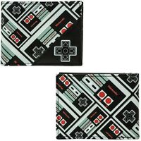 Nintendo Nes Controller All Over Print Bi-fold Wallet