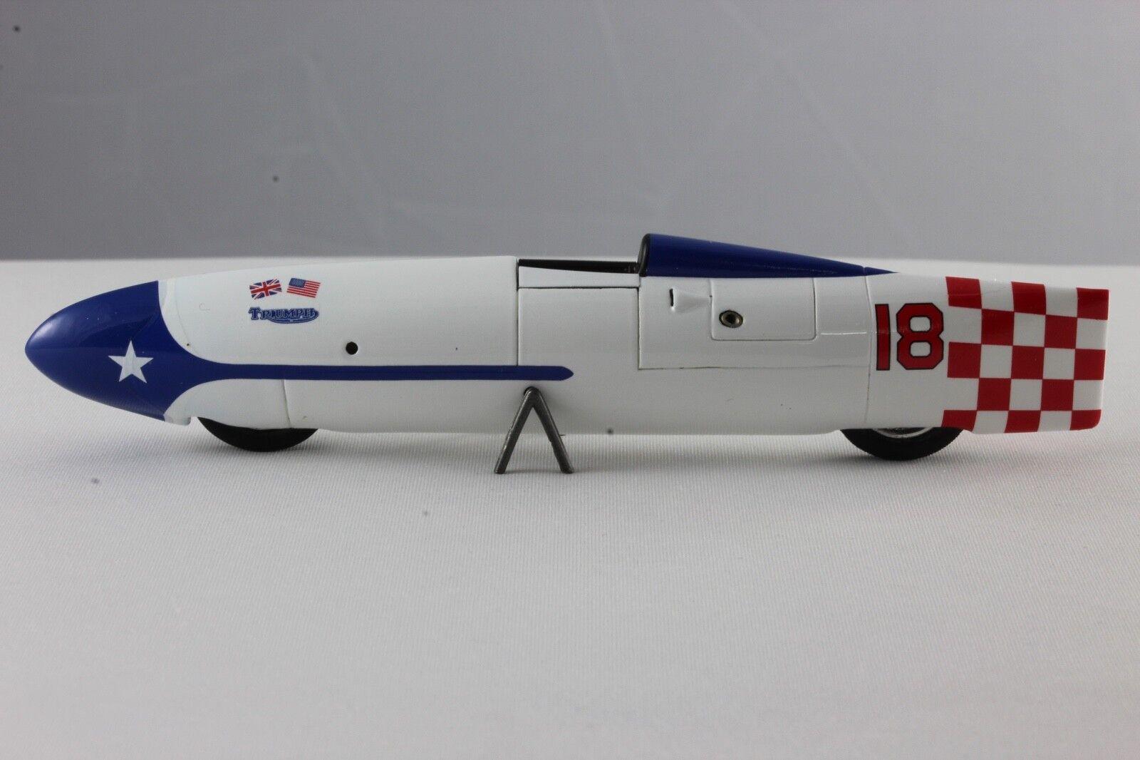 Bizarre Triumph the Texas Cee-Gar BONNEVILE Record 1956 214 MPH Bizarre BZ559