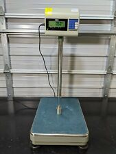 Uline H 670 Industrial Platform Scale 330 Lbs X 1 Lb Kg