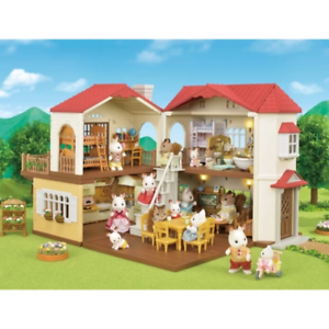 Sylvanian Families SF5302 Red Roof Country Home Brand New