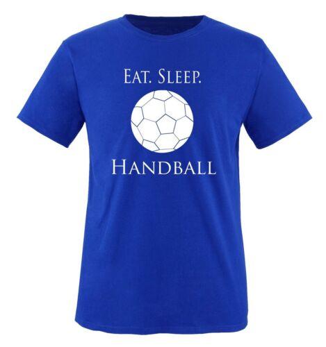 Comedy Shirts SLEEP HANDBALL Kinder T-Shirt EAT 86//92-152//164 Versch Gr