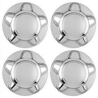 Set Of 4 97-03 Ford F150&expedition Chrome Center Hub Caps With 7' 7/8