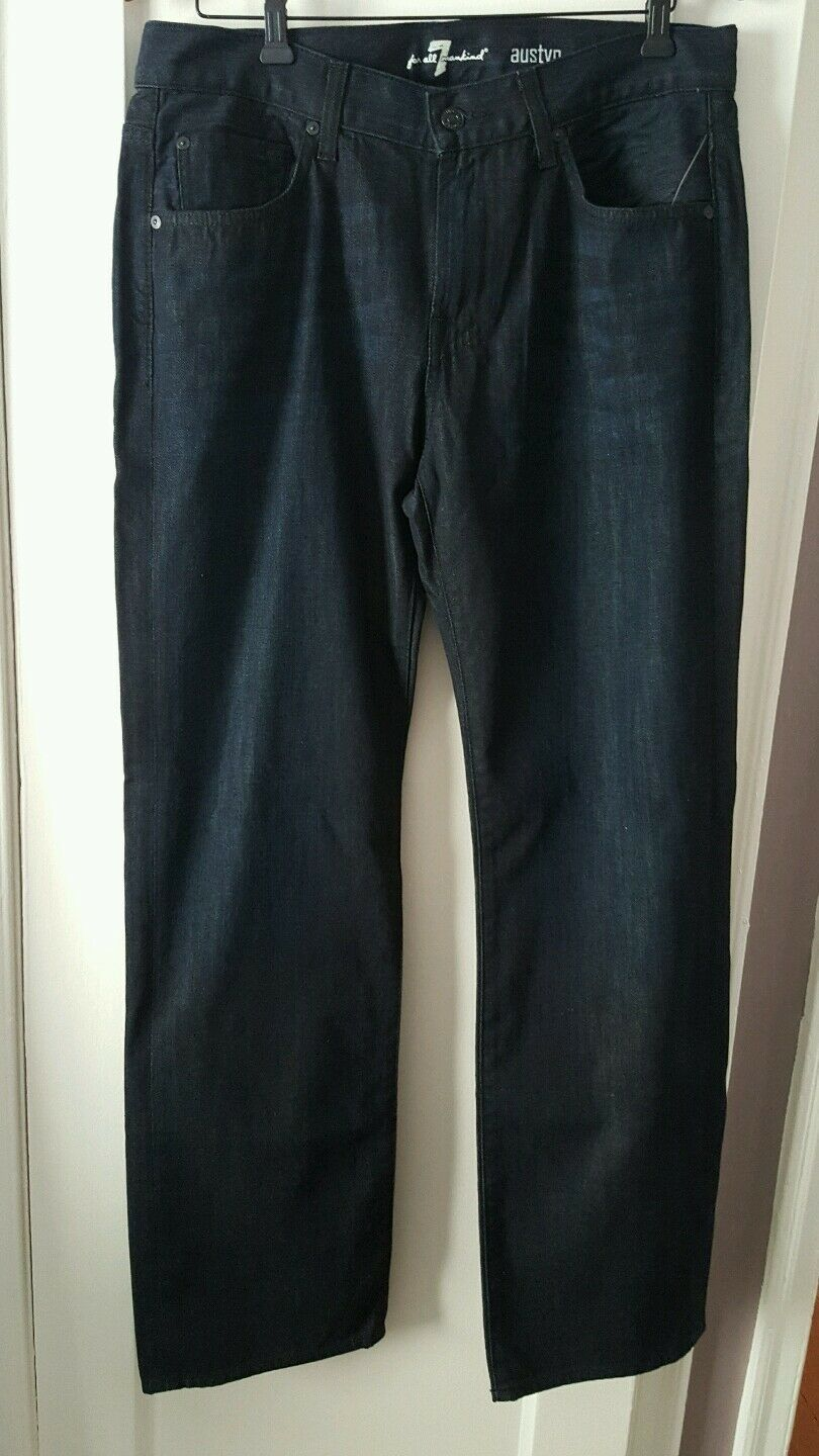 7 FOR ALL MANKIND bluee Mens Austyn Jeans Size 33 NWT