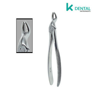 Detalles de Forceps dentales de extraccion #67A Cordales superior cirugia  oral odontologia