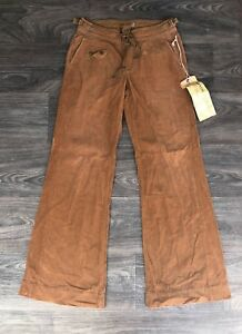 9eeccc4de03 NWT Da Nang Women s Cotton Corduroy Wide Leg Pants Barely Brown