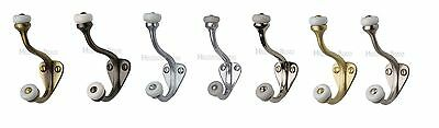 Heritage Brass-v1048-hat & Coat Hook 79mm Proiezione-ottone Massiccio Materiale-