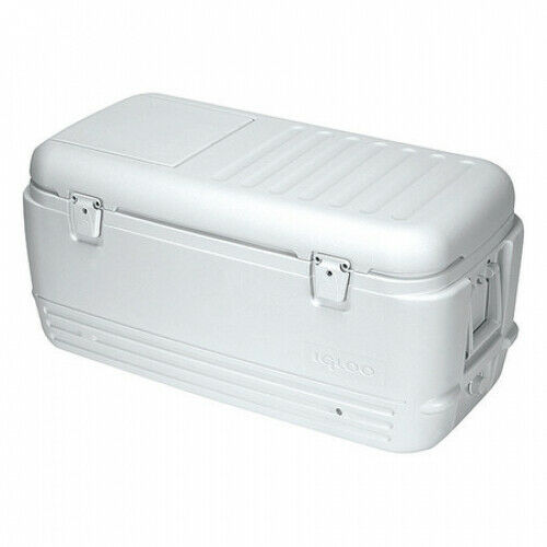 Chest Cooler 100-Quart Capacity Holds 145 Cans Weiß Plastic Threaded Drain Plug