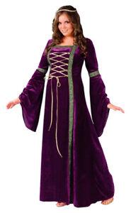 Renaissance Medieval Woman Halloween Costumes Plus Size