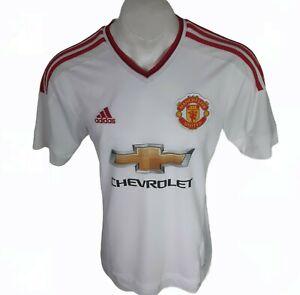 Authentic Manchester United Away Camicia 2015/16 UK MEDIUM