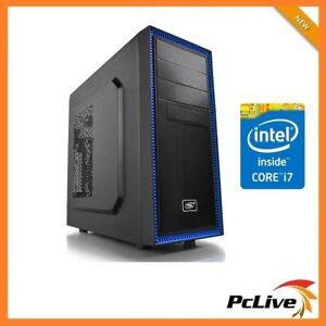 Details about Intel Hexa Core i7 8700 16GB RAM 2TB HD 2GB GT 710 HDMI 600W  Desktop Computer PC
