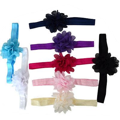 Lovely Baby Flower Headband Hairband  Elastic Wedding//Christening//Party