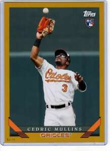 Cedric Mullins 2019 Topps Archives 5x7 Gold #290 RC /10 Orioles