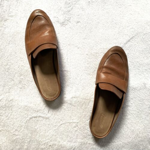 Marsell Slip On Brown Leather Loafers Backless Mul