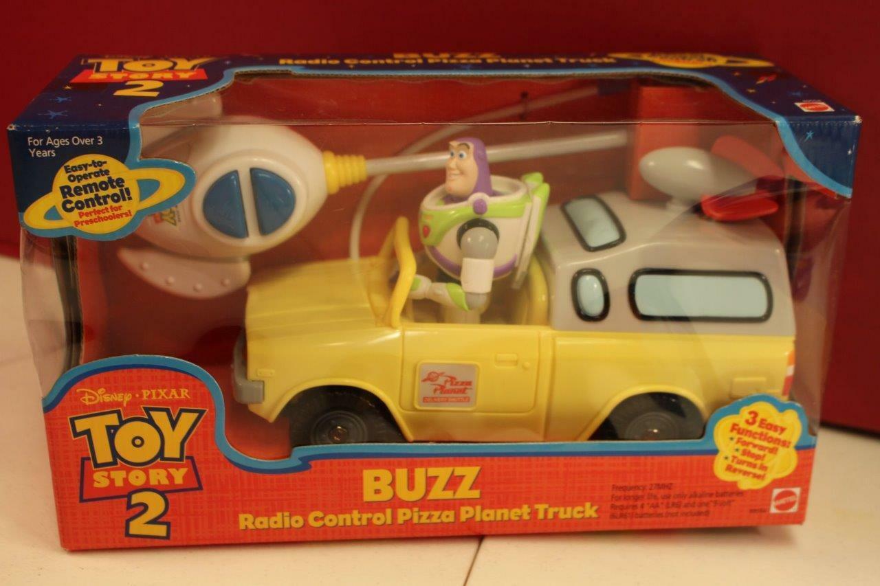 Rc Car And Truck Radio Control Remote Control Rc Planet >> Toy Story 2 Buzz Lightyear Radio Control Pizza Planet Truck Rc Car Mib