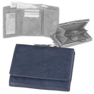 bb89837affa98 Das Bild wird geladen Greenburry-Leder-Buegelboerse-Damen-Geldboerse-blau- Portemonnaie-Geldbeutel